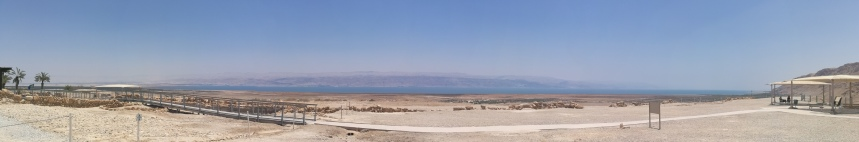 The Dead Sea from Qumran
