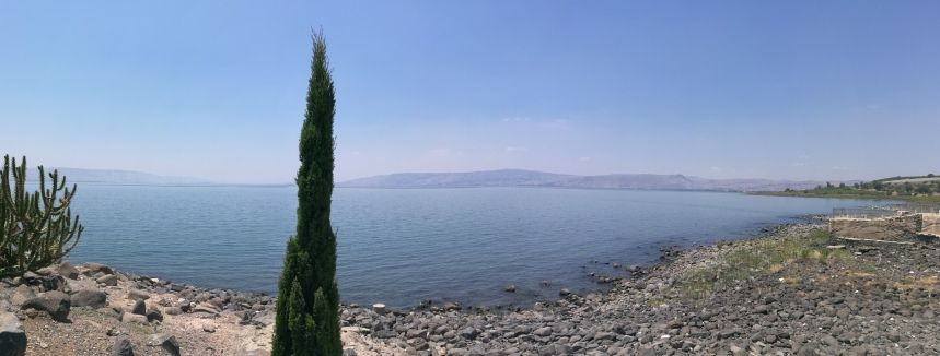 Sea of Galilee (as seen from Capernaum)