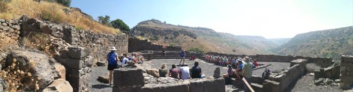 Ancient Synagogue at Gamla
