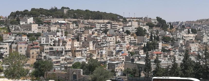 Modern city of Jerusalem