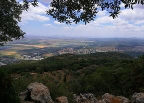Jezreel Valley from Mt. Carmel